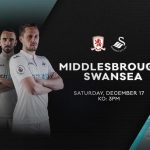 Før kamp: Middlesbrough – Swansea