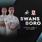 Før kamp: Swansea – Middlesbrough